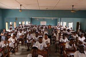 ECWA School of Nursing students