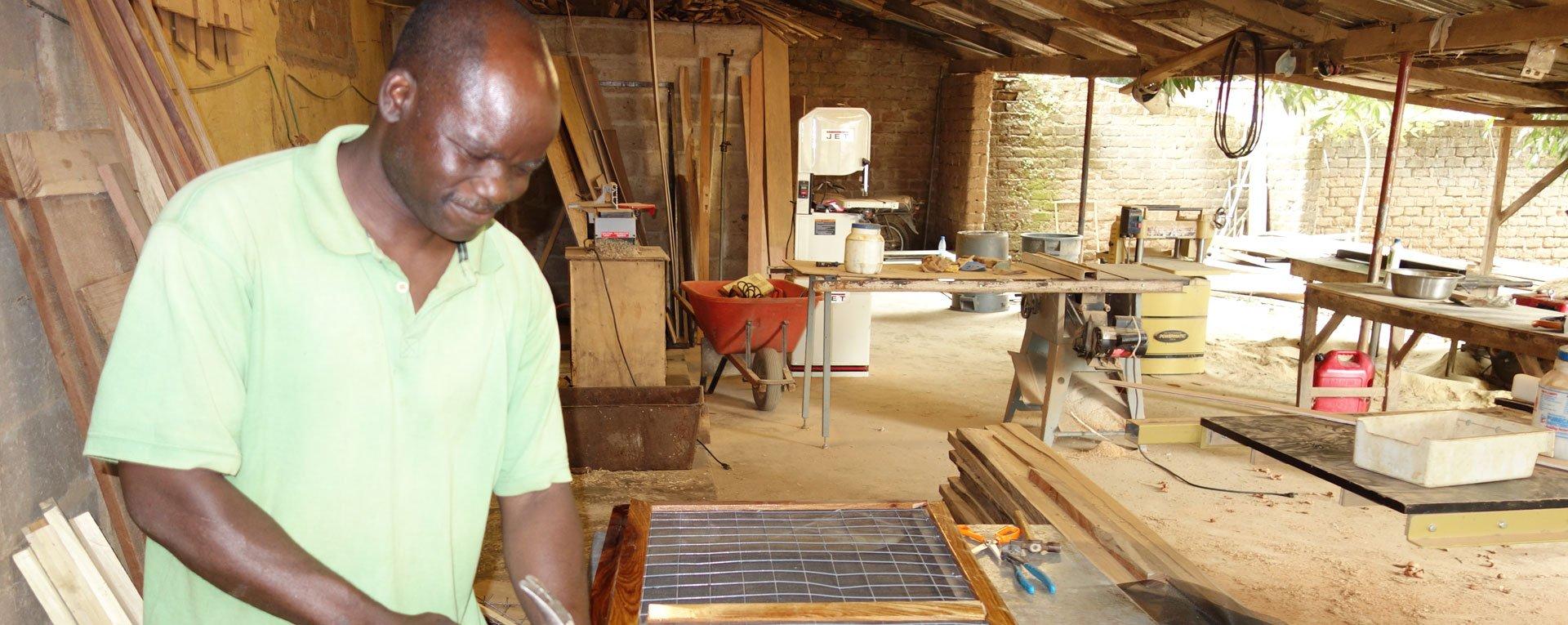 Egbe Hospital maintenance worker