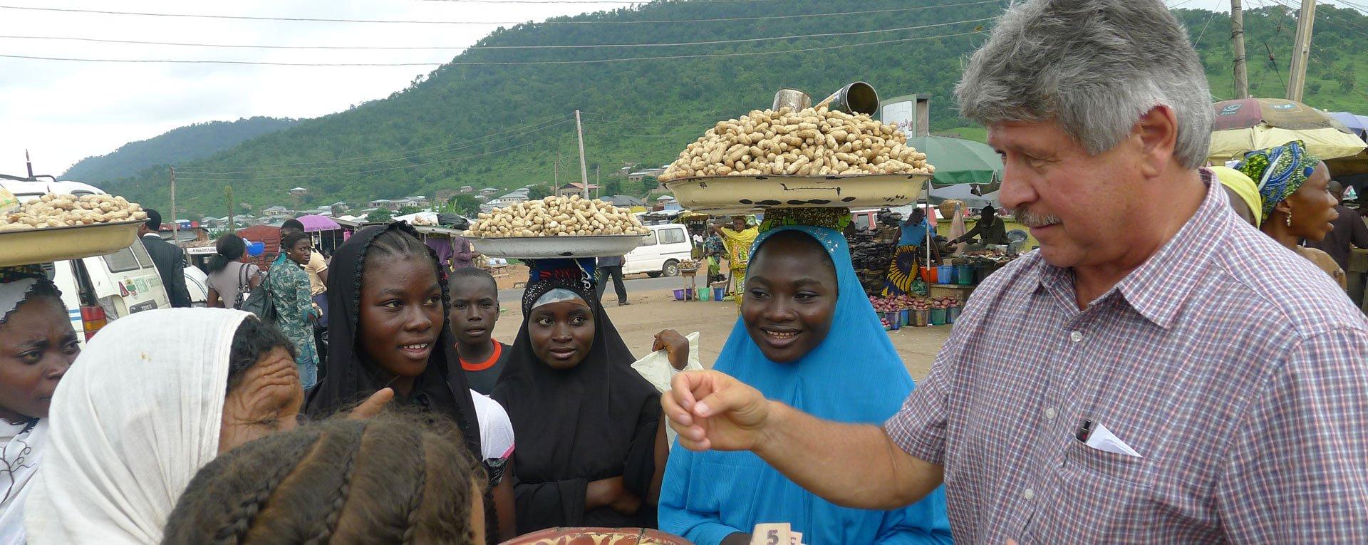 Shopping in Egbe Africa