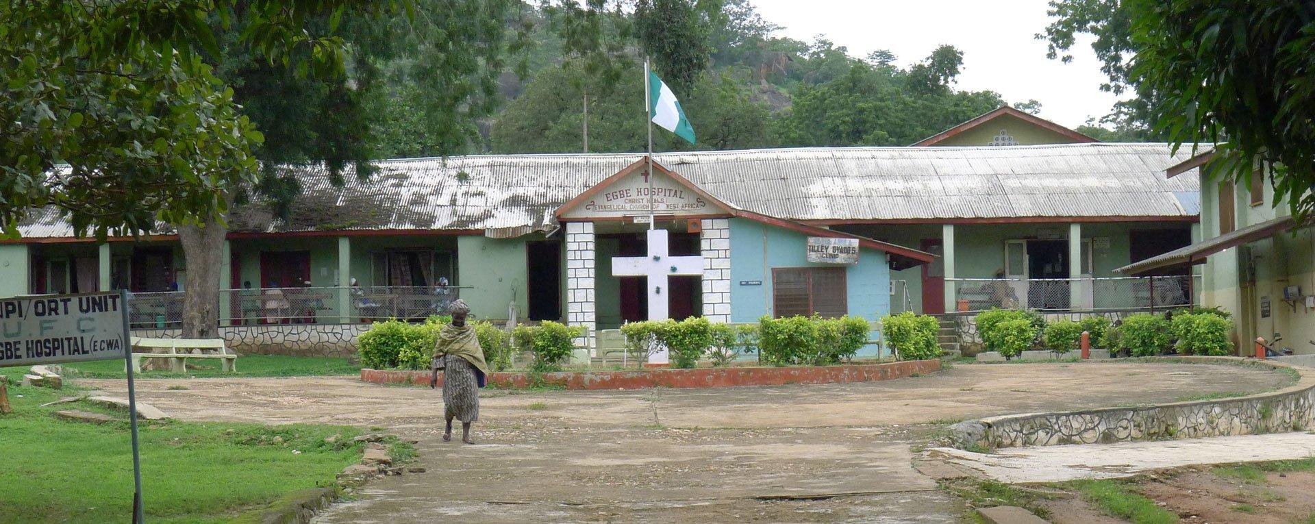 Egbe Hospital Before