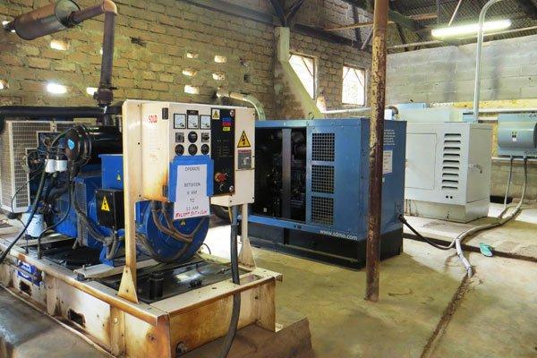 Egbe Hospital New generators