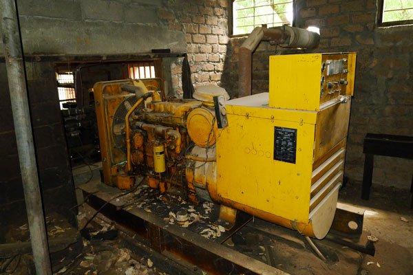 Egbe Hospital old generator