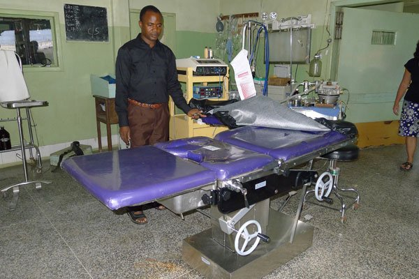 Egbe Hospital new medical equipment
