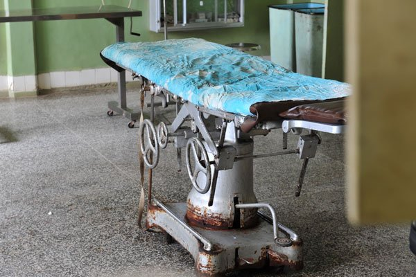 Egbe Hospital old medical equipment