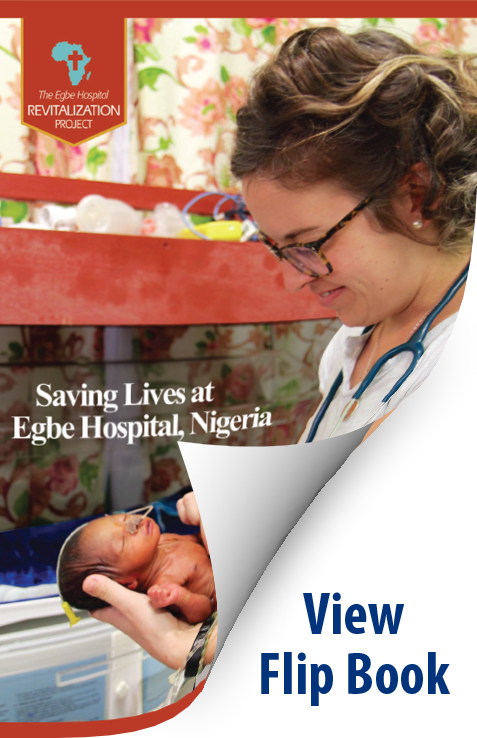 Saving Lives at Egbe Hospital Newsletter