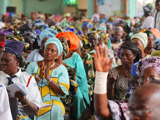 Egbe church service