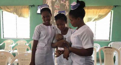 Egbe nurses neonatal resuscitation training