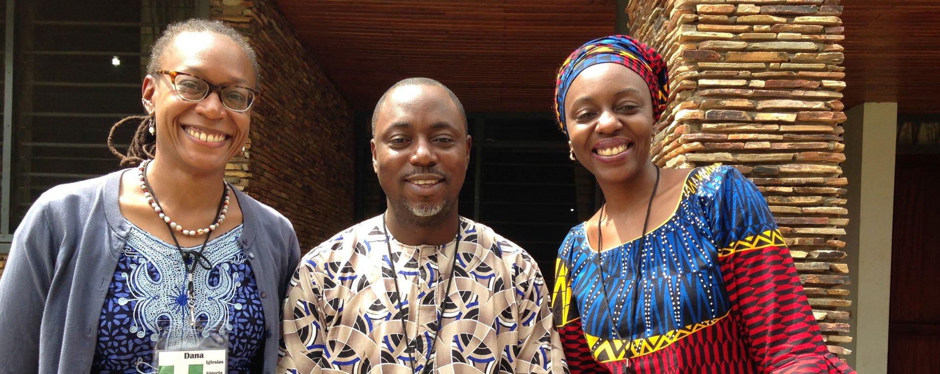 Nigerian doctors at Egbe Hospital
