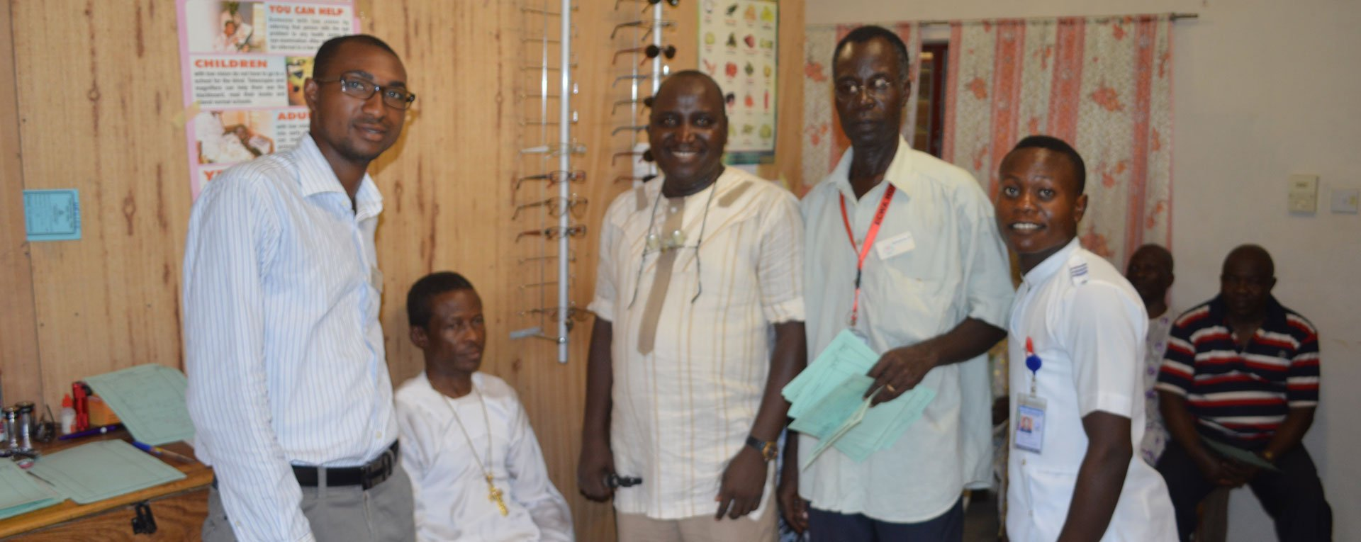 Egbe Eye Center doctor patients