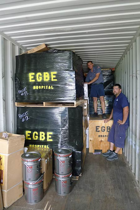 loading container for egbe