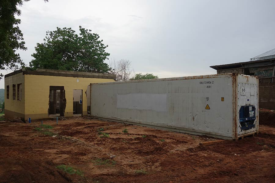 morgue container egbe