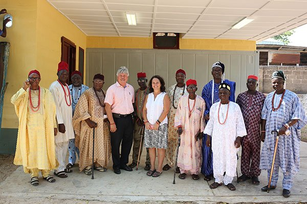Don, Suanne and Egbe Chiefs