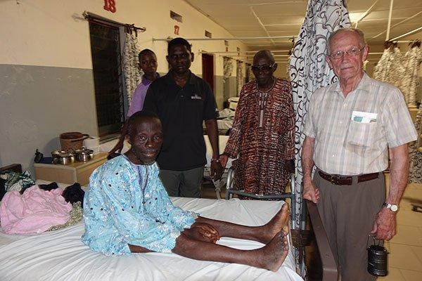Sharing the Gospel in Nigeria Hospital