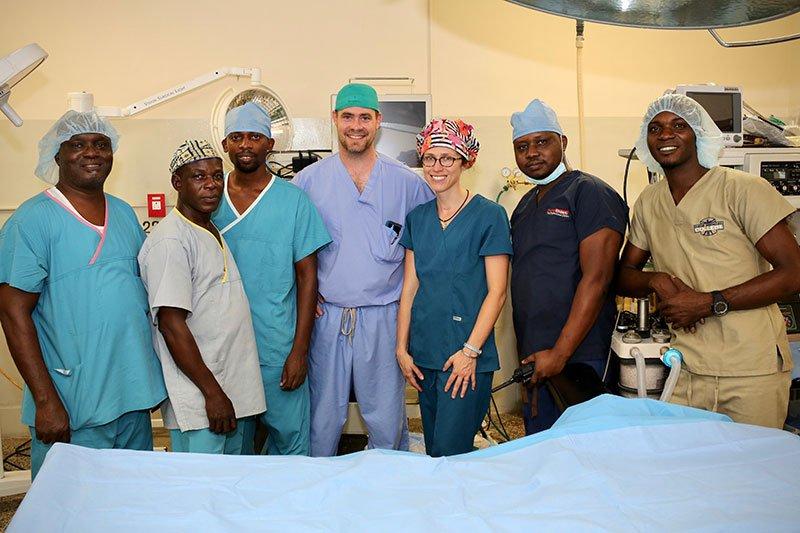Egbe Hospital OR Team