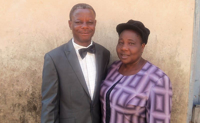 Pastor Alabi and wife