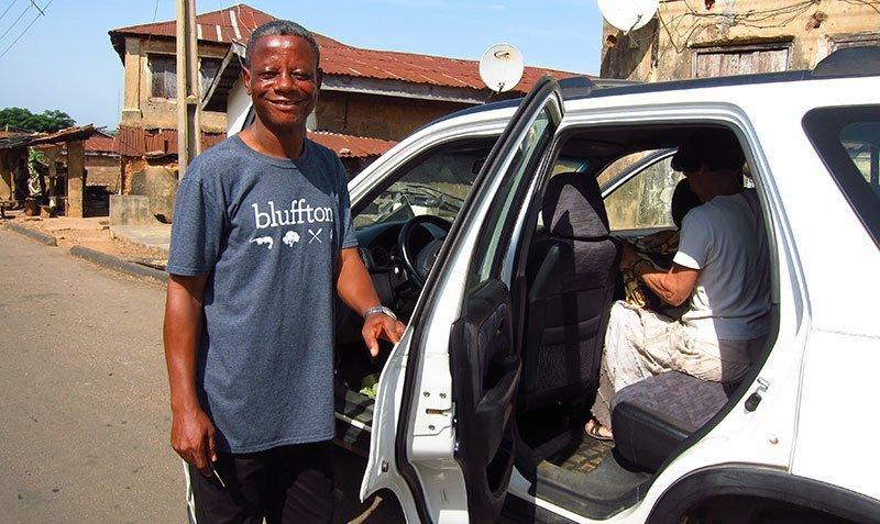 Pastor Alabi vehicle Egbe, Nigeria