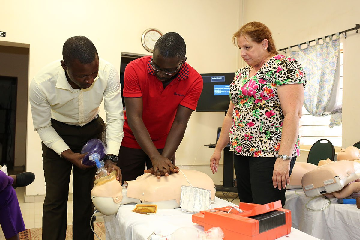 CPR Training at Egbe Hospital