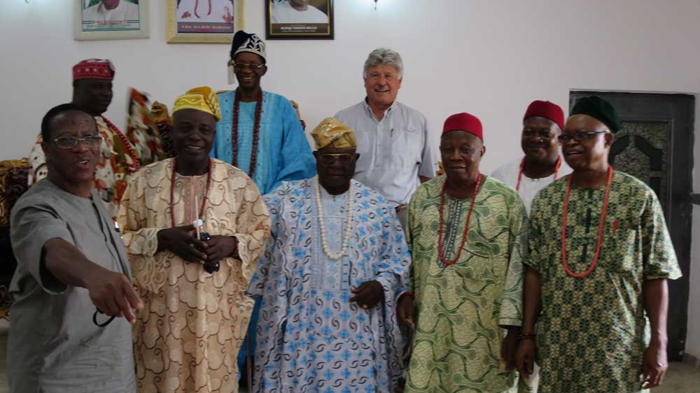 Elegbe of Egbe and Chiefs
