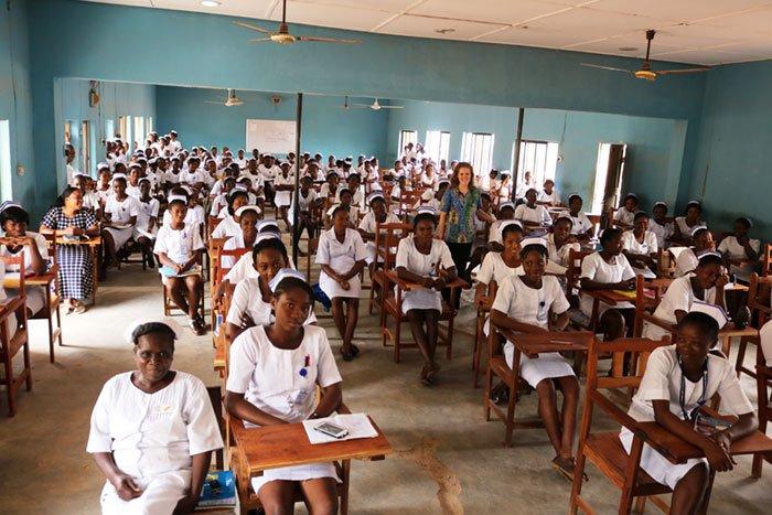 ECWA School of Nursing Classroom