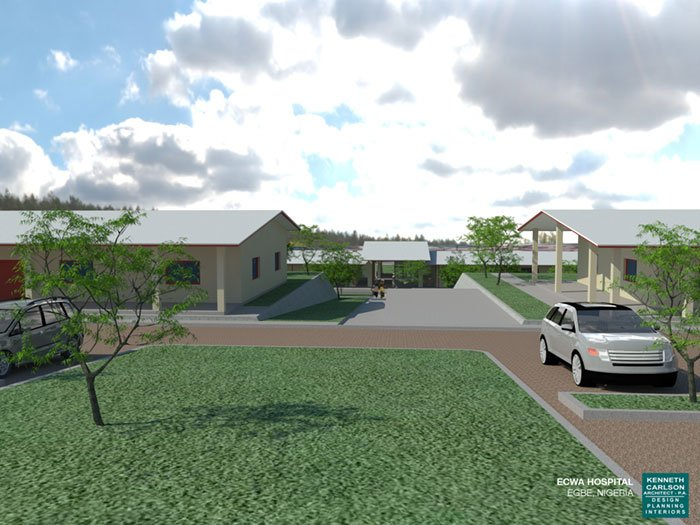 ECWA School of Nursing Dorm Rendering