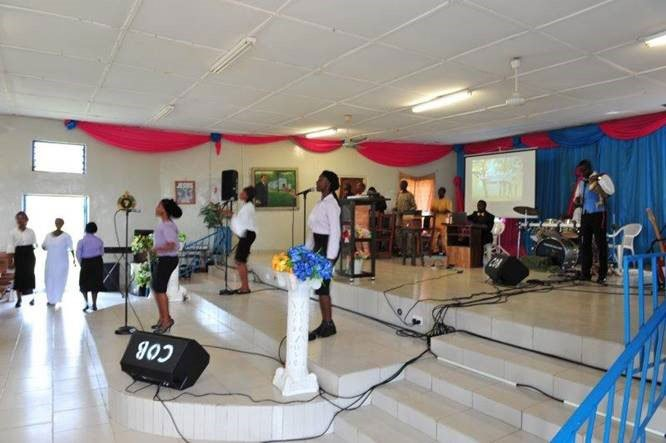 Egbe Chapel new sound system