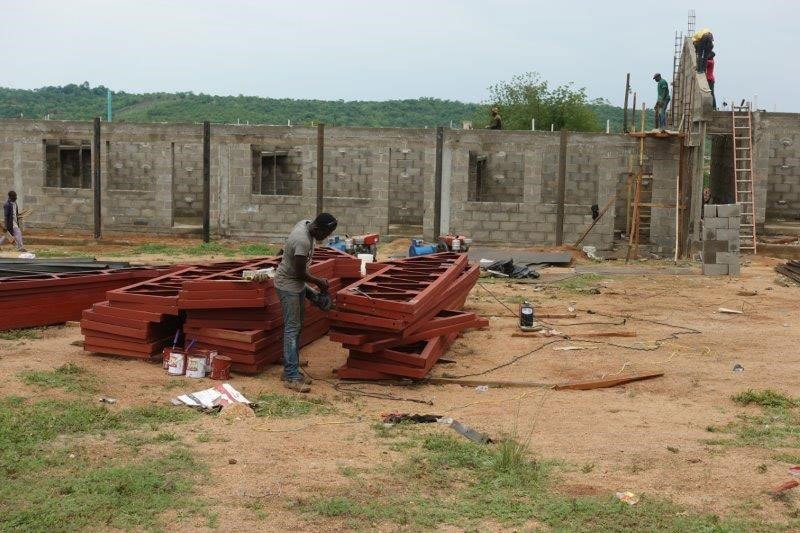 School of nursing construction