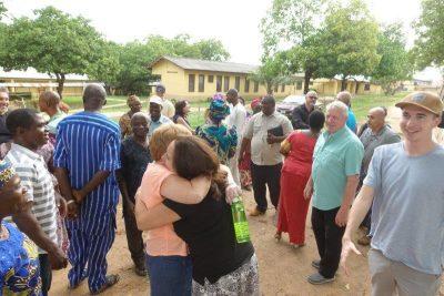 Heartfelt Hug at Egbe Hospital Revitalization