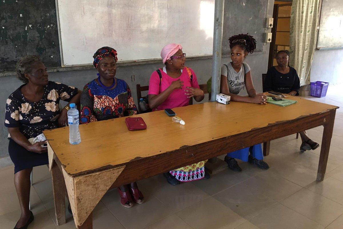 Nursing staff lecture