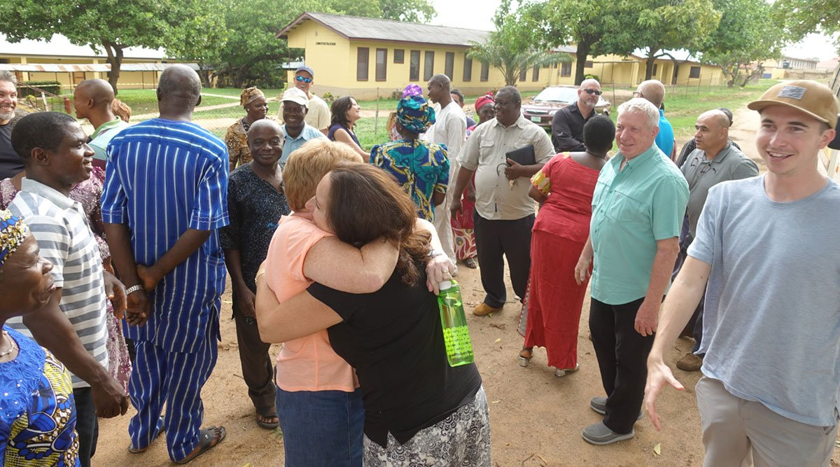 Community at Egbe Hospital