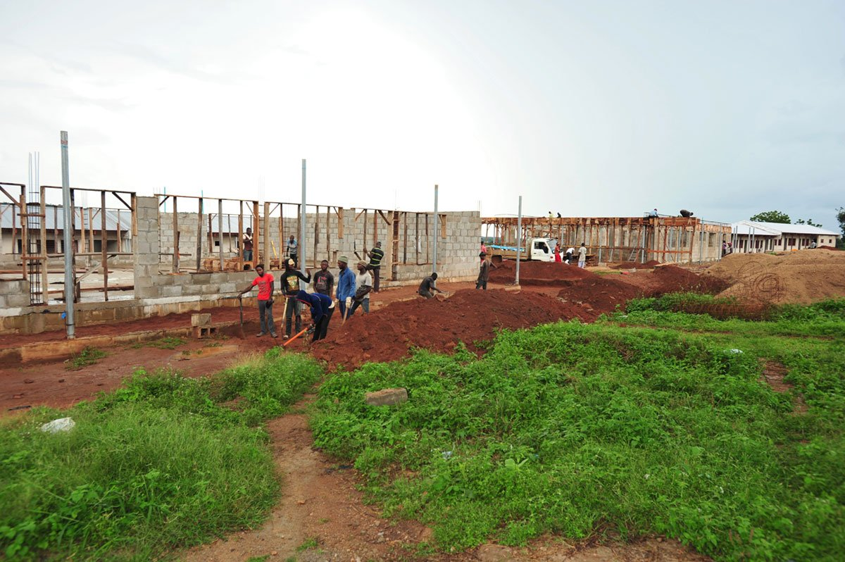 Administration Building Construction