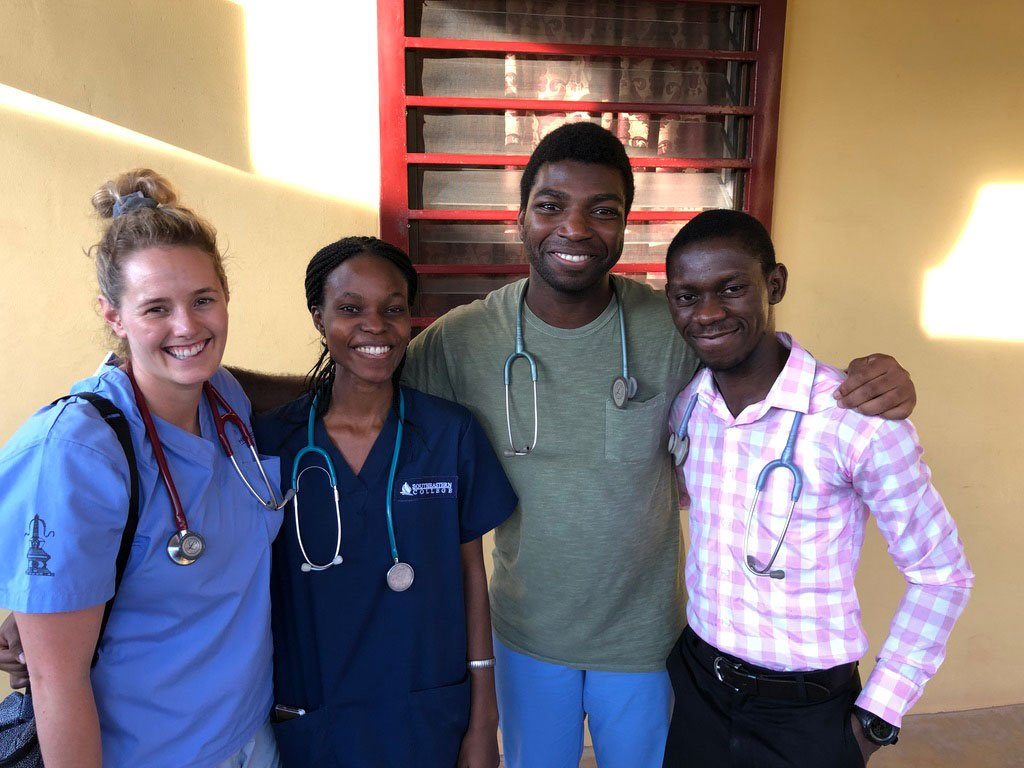 American Doctor with Egbe Doctors
