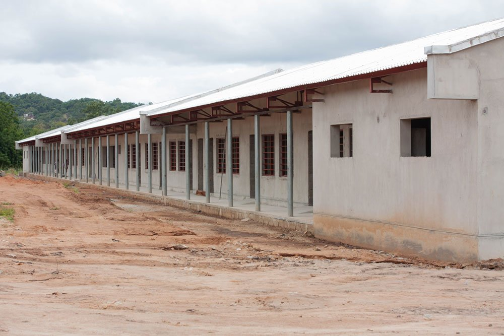 Administrative building with study hall